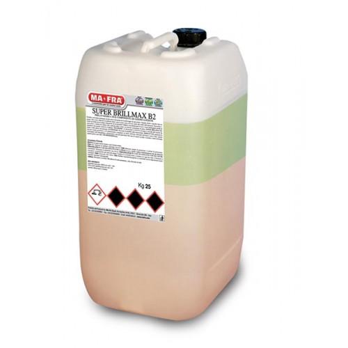 SUPER BRILLMAX B2 Καθαριστικο Πρόπλυσης Ασφαλές για αλλουμίνια 25 Kg